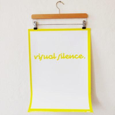 Poster visual silence