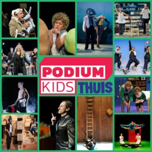 Collage Podiumkids Thuis_vierkant met logo