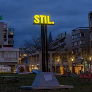 Stil. Sign in Heerlen. Hoge Fronten - Cultura Nova